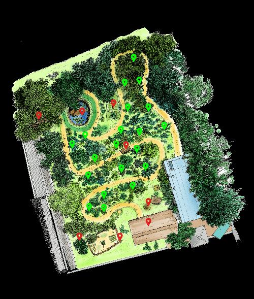 Map of Dilmah Conservation Arboretum