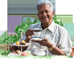Founder of Dilmah Merrill J. Fernando