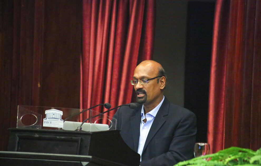 Dr. Nambi's Speech about Climate Reality
