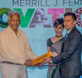 Winner of MJF Awards Raveen Perera