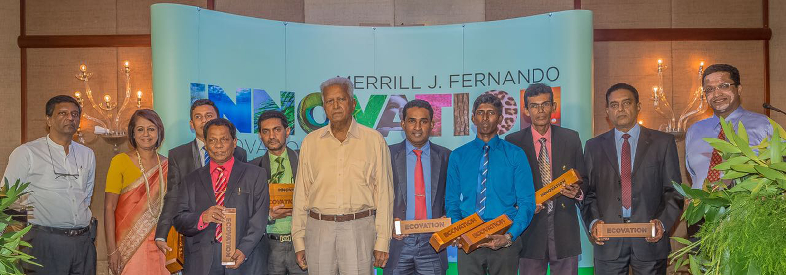 Photograph of the Winners from Innovation Awards
