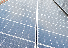 Photograph of Solar Panels