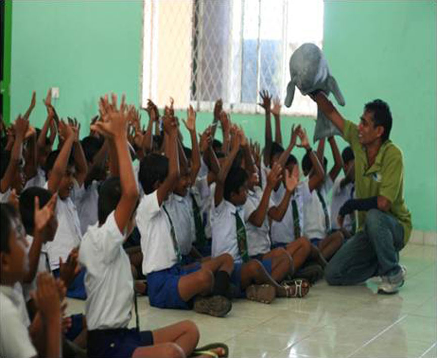 Awareness Programmes on Dugong for Kids