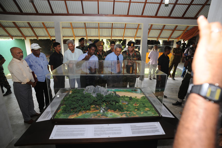 Checking Progress of Thoppigala Heritage Centre