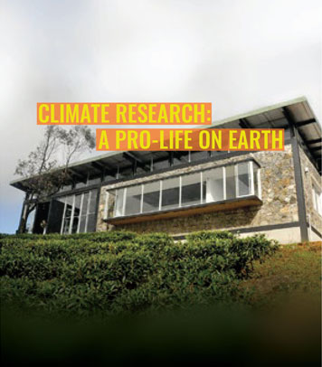 Climate research: a pro-life on earth