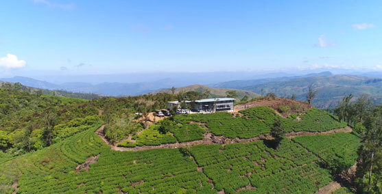 Above View of Climate Research Centre