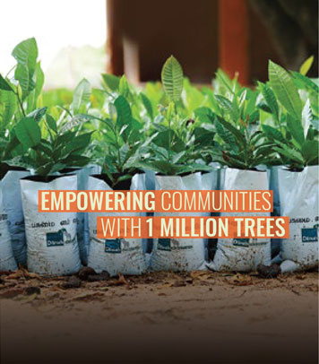 Empowering communities with 1 million trees