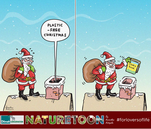Waste can double over the Christmas season mainly due to plastic packaging and gift-wrapping material.