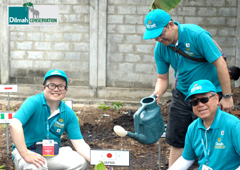 Global Partners Plant Trees