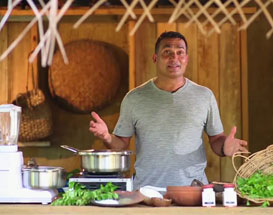 DC Healthy Living Series -  Kola Kenda (Herbal Porridge) Prepared By Celebrity Chef Peter Kuruvita